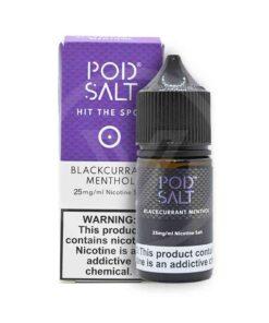 POD SALT BLACKCURRANT MENTHOL - 30ML