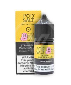 POD SALT STRAWBERRY MARSHMALLOW 25MG